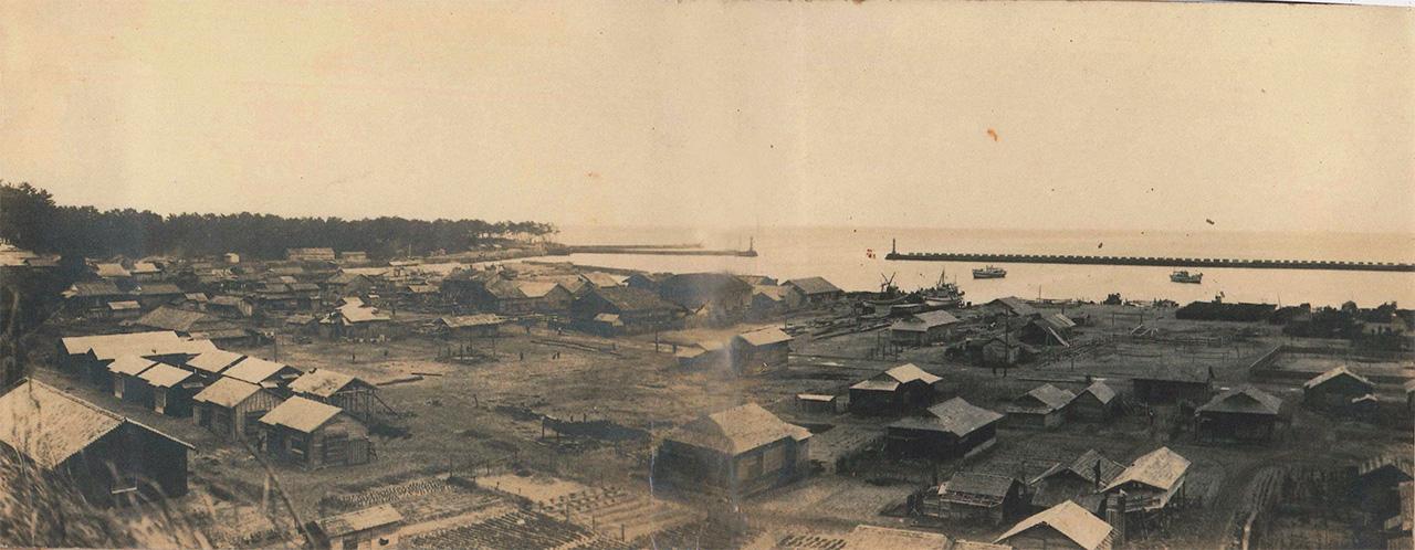 岡下造船所移転時の周辺の風景